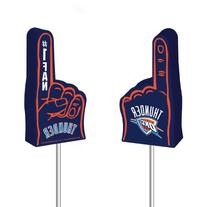 NBA Oklahoma City Thunder Foam Finger Antenna Topper