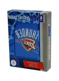 NBA Oklahoma City Thunder Playing Cards