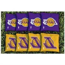 NBA Replacement All Weather Cornhole Bag Set, Los Angeles