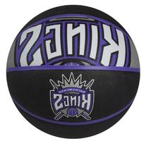 Spalding NBA Sacramento Kings Courtside Rubber Basketball