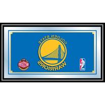 NBA1500-GSW - Golden State Warriors NBA Framed Logo Mirror