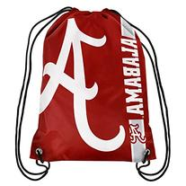 NCAA Alabama Crimson Tide Big Logo Drawstring Backpack, 18