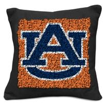 NCAA Auburn Tigers Pillow Latch Hook Kit, 9-Inch