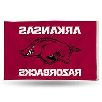 NCAA Arkansas Razorbacks Banner Flag 3-Foot by 5-Foot