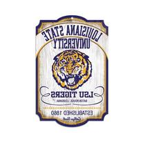 NCAA College Vault Louisiana State Fightin Tigers 11-by-17