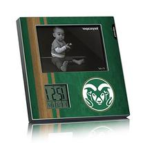 Colorado State Rams Picture Frame & Desk Clock Licensed by