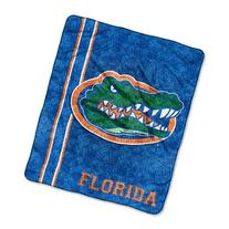 NCAA Florida Gators 50-Inch-by-60-Inch Sherpa on Sherpa