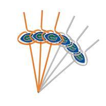 NCAA Florida Gators Six Pack Team Sip Sport Straws
