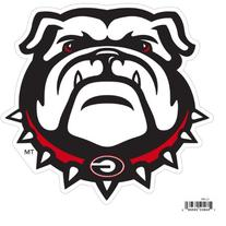NCAA Georgia Bulldogs Automotive Magnet, 8-Inch