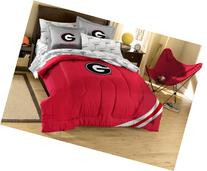 NCAA Georgia Bulldogs Full Bed in a Bag with Applique
