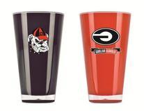 Duck House NCAA Georgia Bulldogs 20oz Insulated Acrylic