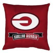 NCAA Georgia Bulldogs Locker Room Pillow