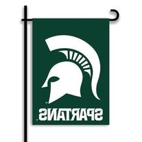 NCAA Michigan State Spartans 2-Sided Garden Flag, Team Color