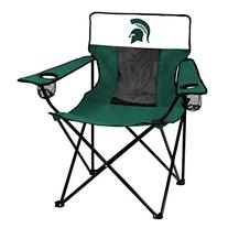 NCAA Michigan State Spartans Elite Chair by Logo Brands
