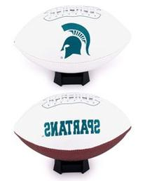 NCAA Michigan State Spartans Signature Full Size Football