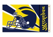 NCAA Michigan Wolverines 3-by-5 Foot Flag with Grommets -