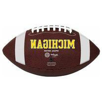 NCAA Michigan Wolverines Game Time Full Size Football