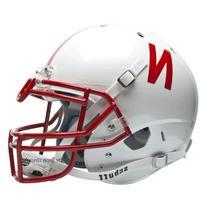 NCAA Nebraska Cornhuskers Authentic XP Football Helmet