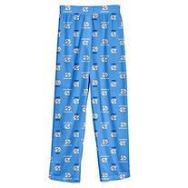 NCAA North Carolina Tar Heels Colored Printed Pant, Light