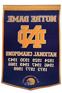 NCAA Notre Dame Fighting Irish Dynasty Banner