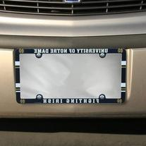 NCAA Notre Dame Fighting Irish Full Color License Plate