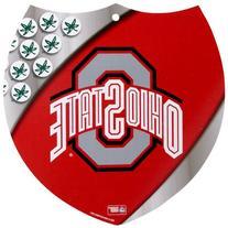 NCAA Ohio State Buckeyes 8'' x 8'' Plastic Shield Sign