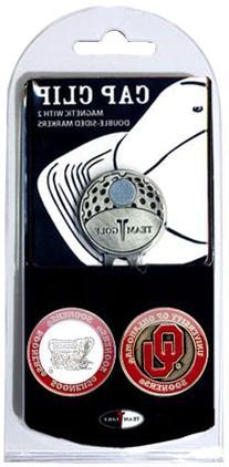 NCAA Oklahoma Sooners 2 Marker Golf Cap Clip