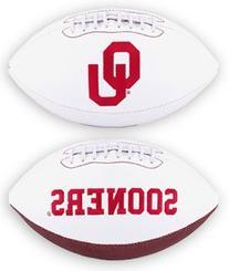 NCAA Oklahoma Sooners Signature Full Size Football