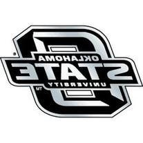 NCAA Oklahoma State Cowboys Chrome Automobile Emblem