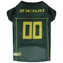Pets First Collegiate Oregon Ducks Dog Mesh Jersey, X-Large