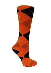 NCAA Oregon State Beavers Argyle Dress Sock, One Size, Black