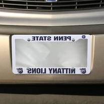 NCAA Penn State Nittany Lions Plastic License Plate Frame -