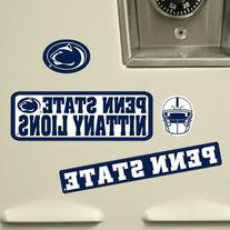 Penn State Nittany Lions Vinyl Cling Stickers 18 Removeable