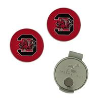 South Carolina Gamecocks Hat Clip and Ball Markers