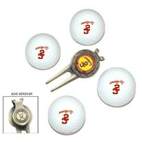 NCAA Southern California 4-Pack Team Golf Ball Gift Set