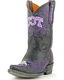 NCAA TCU Horned Frogs Women's 10-Inch Gameday Boots, Black,