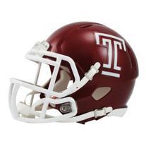NCAA Temple Owls Speed Mini Helmet