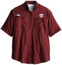 NCAA Texas A&M Aggies Collegiate Tamiami Shirt, Maroon, X-