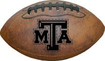NCAA Texas A&M Aggies Game Master Throwback Football, Brown