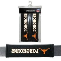 NCAA Texas Longhorns Seat Belt Pads, One Size