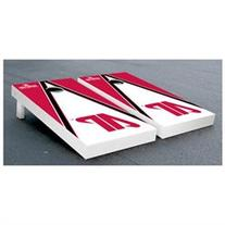 NCAA Triangle Wooden Cornhole Game Set, Austin Peay State