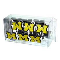 NCAA University of Michigan Wolverines Shower Curtain Hook