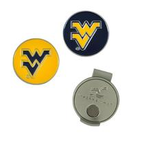West Virginia Mountaineers Hat Clip and Ball Markers