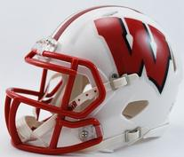NCAA Wisconsin Badgers Speed Mini Helmet
