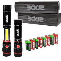 Nebo Slyde 250 Lumen LED flashlight/Worklight 6156 Two Pack
