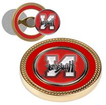 Nebraska Cornhuskers Challenge Coin with Ball Markers