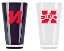 Nebraska Huskers Tumblers - Set of 2