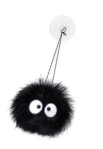 My Neighbor Totoro: Soot  w/suction Cup