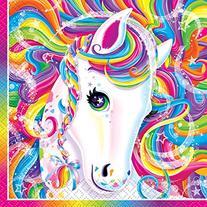 Neon Pony Lisa Frank Beverage Napkins