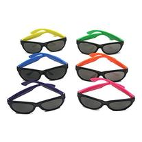 Fun Express Child Neon Sunglasses,  6 assorted colors, Sold